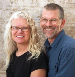 Peter and Tracy Flucke authors of coast to coast on a tandem