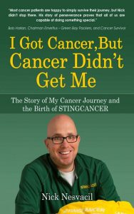 I Cot Cancer but cancer didn't get me book